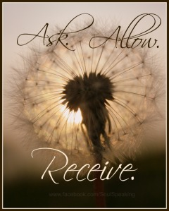 ask allow receive